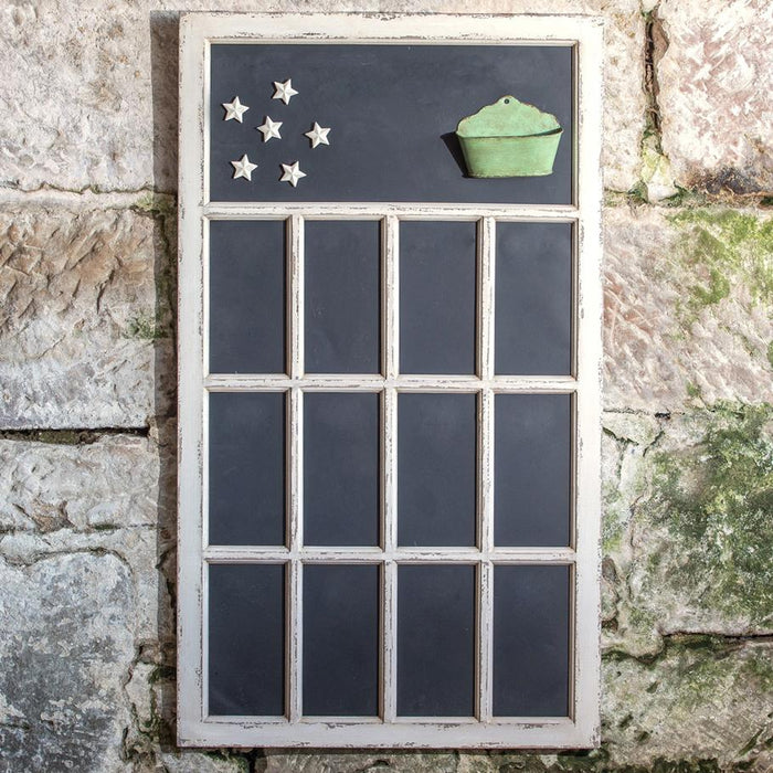 Window Pane Chalkboard - Ragon House - The Shops at Mount Vernon