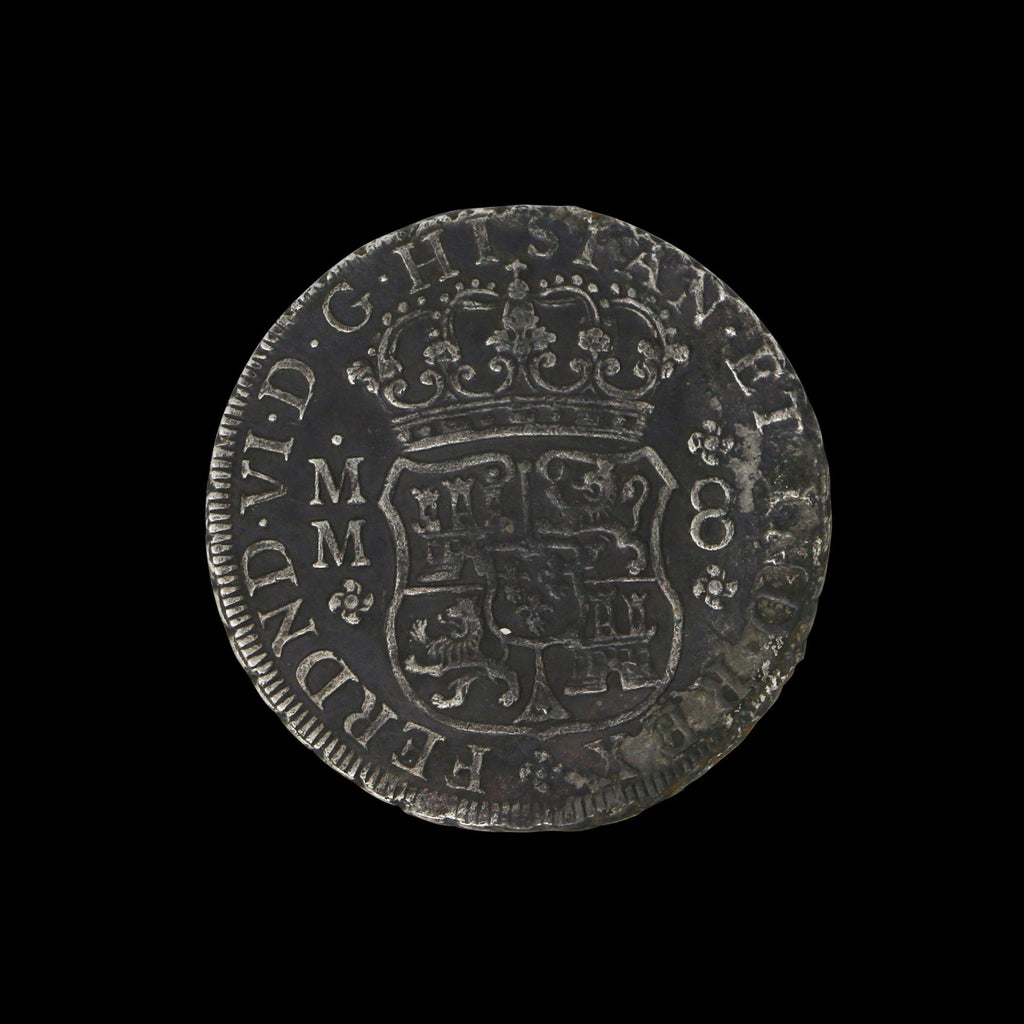 1756 Pillar Dollar: Silver Piece of Eight
