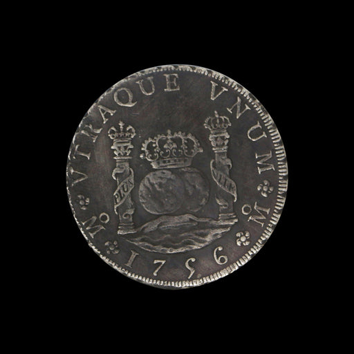 1756 Pillar Dollar: Silver Piece of Eight - DAVID CONSOLVO - The Shops at Mount Vernon