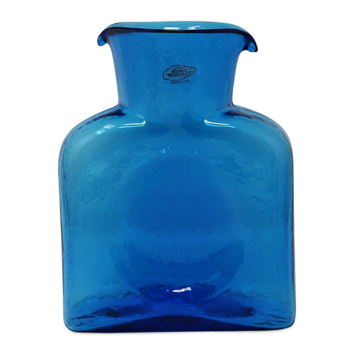 Turquoise Water Bottle - BLENKO GLASS COMPANY - The Shops at Mount Vernon