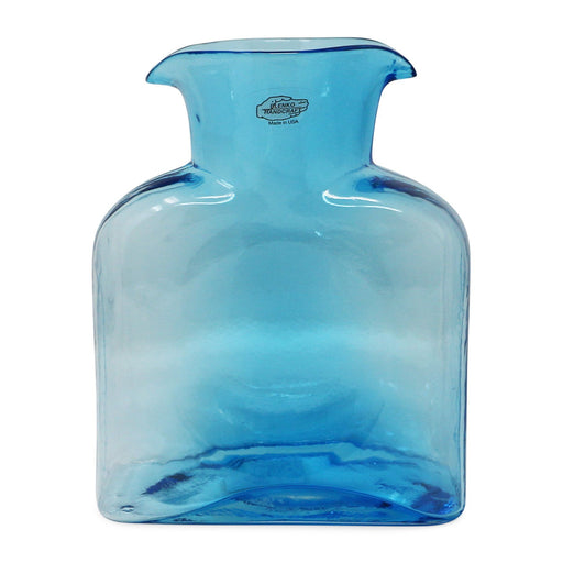 Ice Blue Water Bottle - BLENKO GLASS COMPANY - The Shops at Mount Vernon