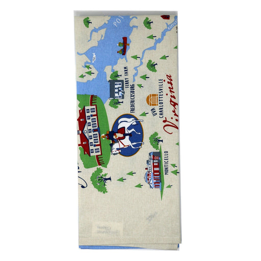 Mount Vernon Chesapeake Bay Tea Towel - Galleyware - The Shops at Mount Vernon