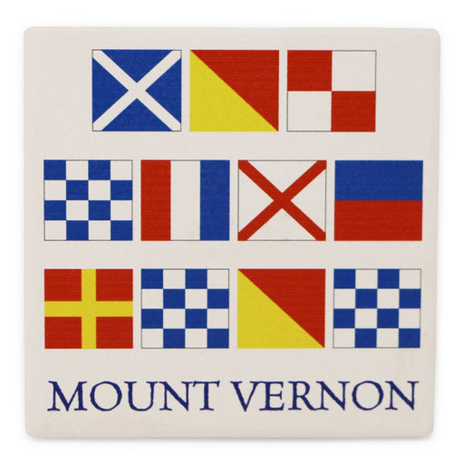 Mount Vernon Signal Coaster - BARLOW DESIGNS, INC. - The Shops at Mount Vernon