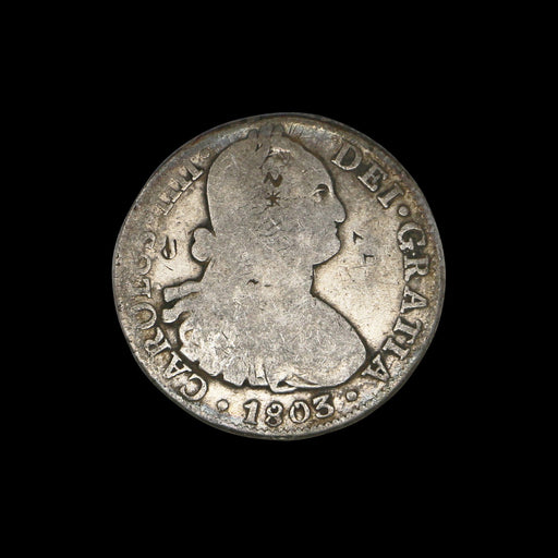 8 Reales 1803 Portrait Dollar - DAVID CONSOLVO - The Shops at Mount Vernon