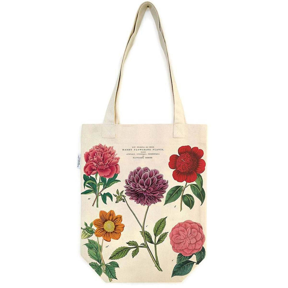 Botanica Tote Bag - Cavallini Papers & Co. Inc - The Shops at Mount Vernon