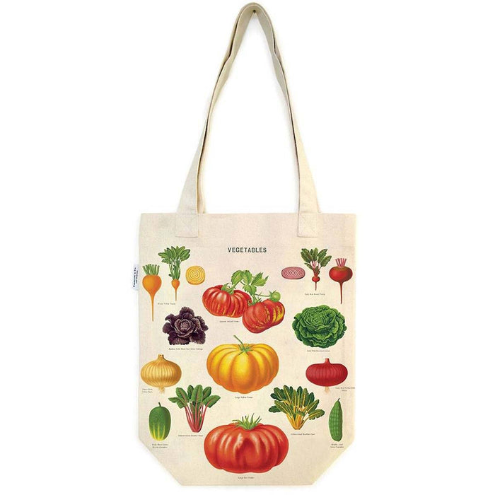 Vegetable Garden Tote Bag - Cavallini Papers & Co. Inc - The Shops at Mount Vernon
