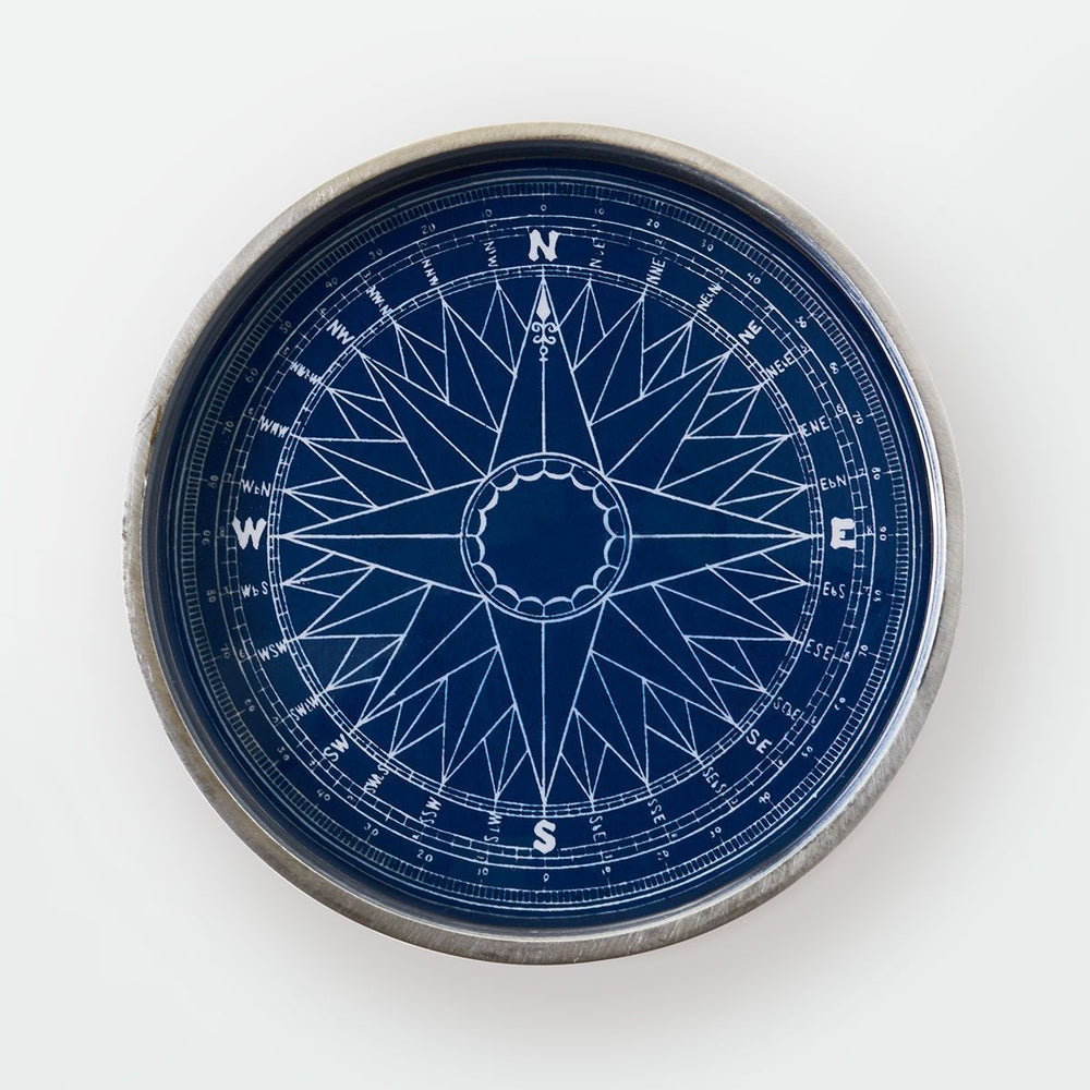 Compass Rose Wine Coaster - Chart Metalworks - The Shops at Mount Vernon