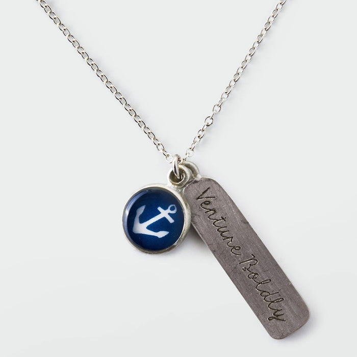 Anchor Necklace - Chart Metalworks - The Shops at Mount Vernon