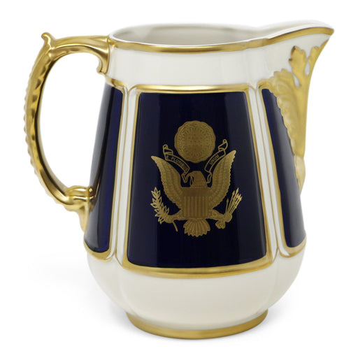 Great Seal Federal Water Pitcher - Pickard China - The Shops at Mount Vernon