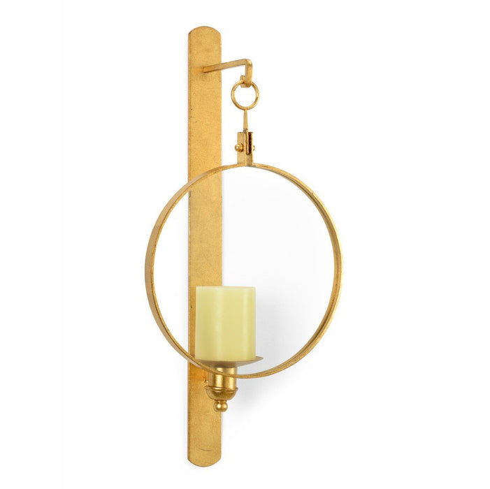 Chelsea House Gold Leggit Wall Sconce - CHELSEA HOUSE - The Shops at Mount Vernon
