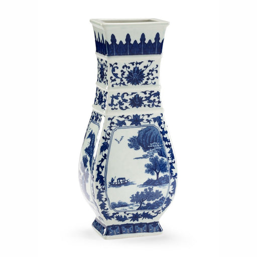 Chelsea House Blue and White Londonderry Vase - CHELSEA HOUSE - The Shops at Mount Vernon