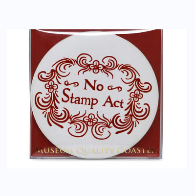 No Stamp Act Coaster