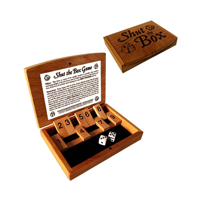 Shut The Box Game - DESIGN MASTER ASSOCIATES - The Shops at Mount Vernon