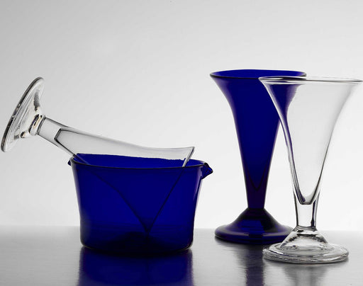 Cobalt Wine Rinser - BLENKO GLASS COMPANY - The Shops at Mount Vernon