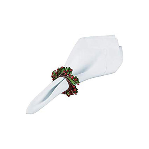 Holly and Berry Napkin Ring - C & F ENTERPRISE - The Shops at Mount Vernon