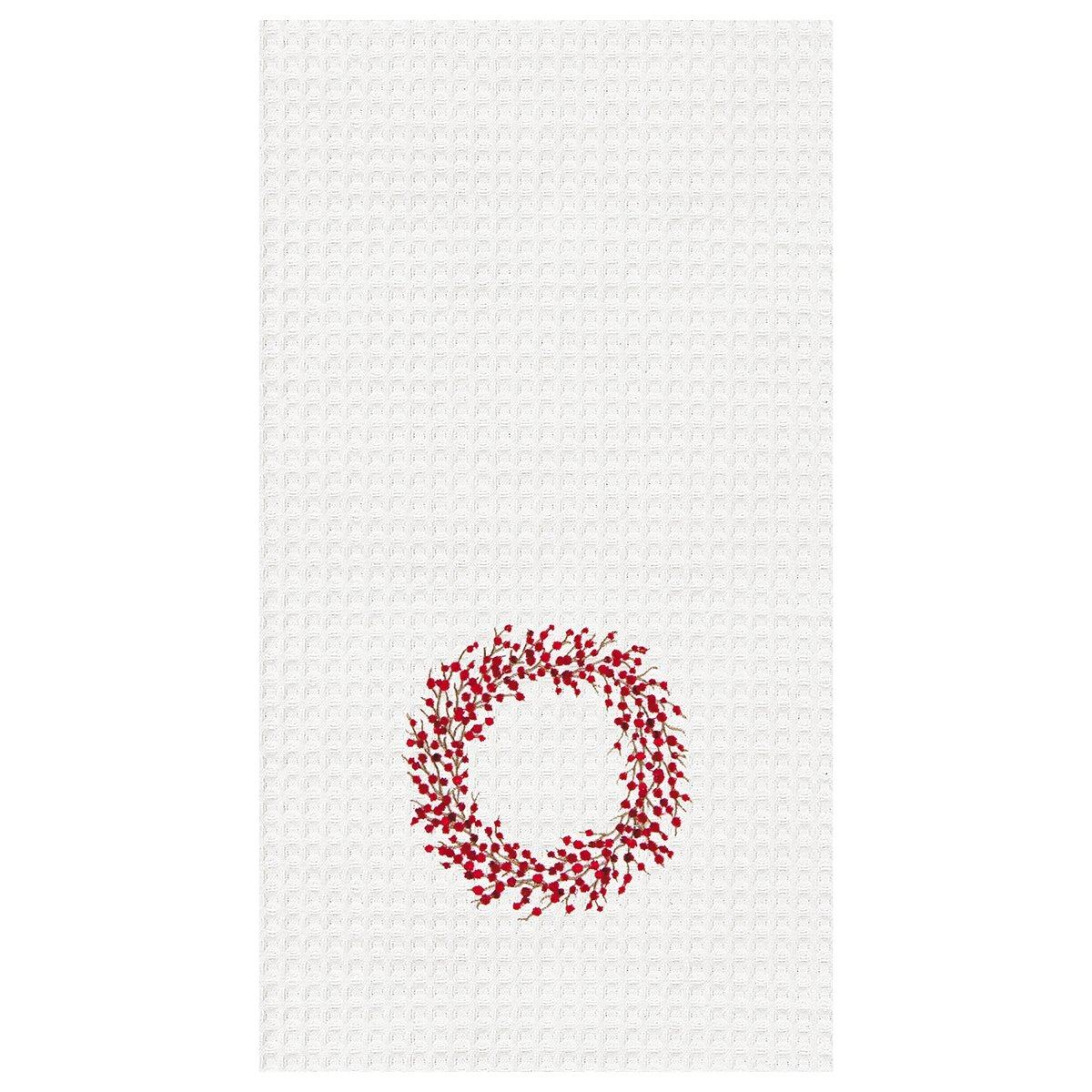 Berry Wreath Towel