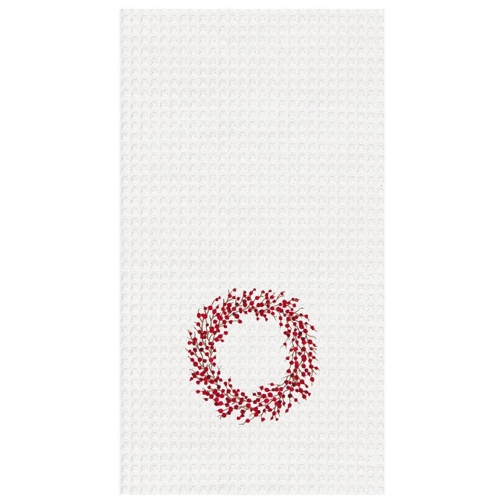 Berry Wreath Towel - C & F ENTERPRISE - The Shops at Mount Vernon