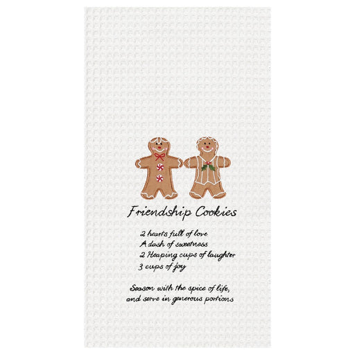 Gingerbread Cookies Towel - C & F ENTERPRISE - The Shops at Mount Vernon