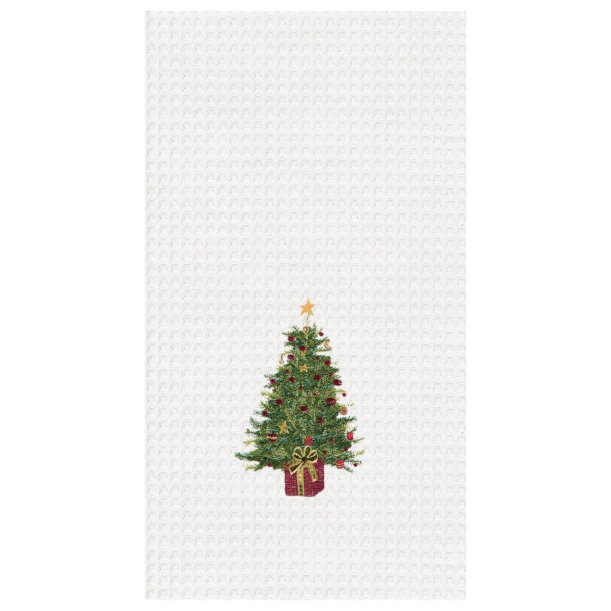 Festive Tree Towel