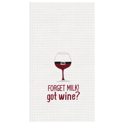 Forget Milk Got Wine Towel