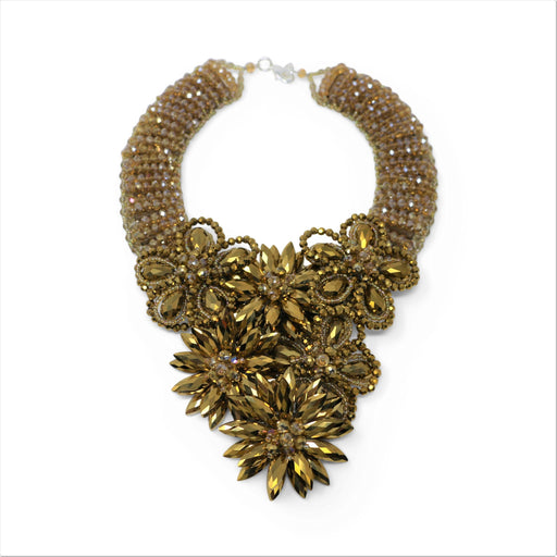 Queen Anne's Lace Drape Collar Necklace - Valerie Sanson - The Shops at Mount Vernon