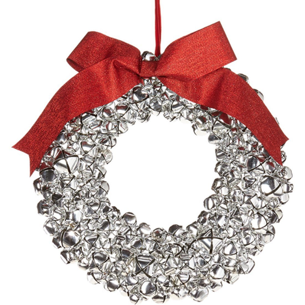 Jingle Bell Wreath - RAZ IMPORTS INC - The Shops at Mount Vernon