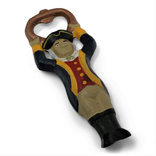 General George Cast Iron Bottle Opener - DESIGN MASTER ASSOCIATES - The Shops at Mount Vernon
