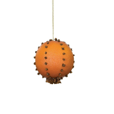 Orange Pomander Ornament