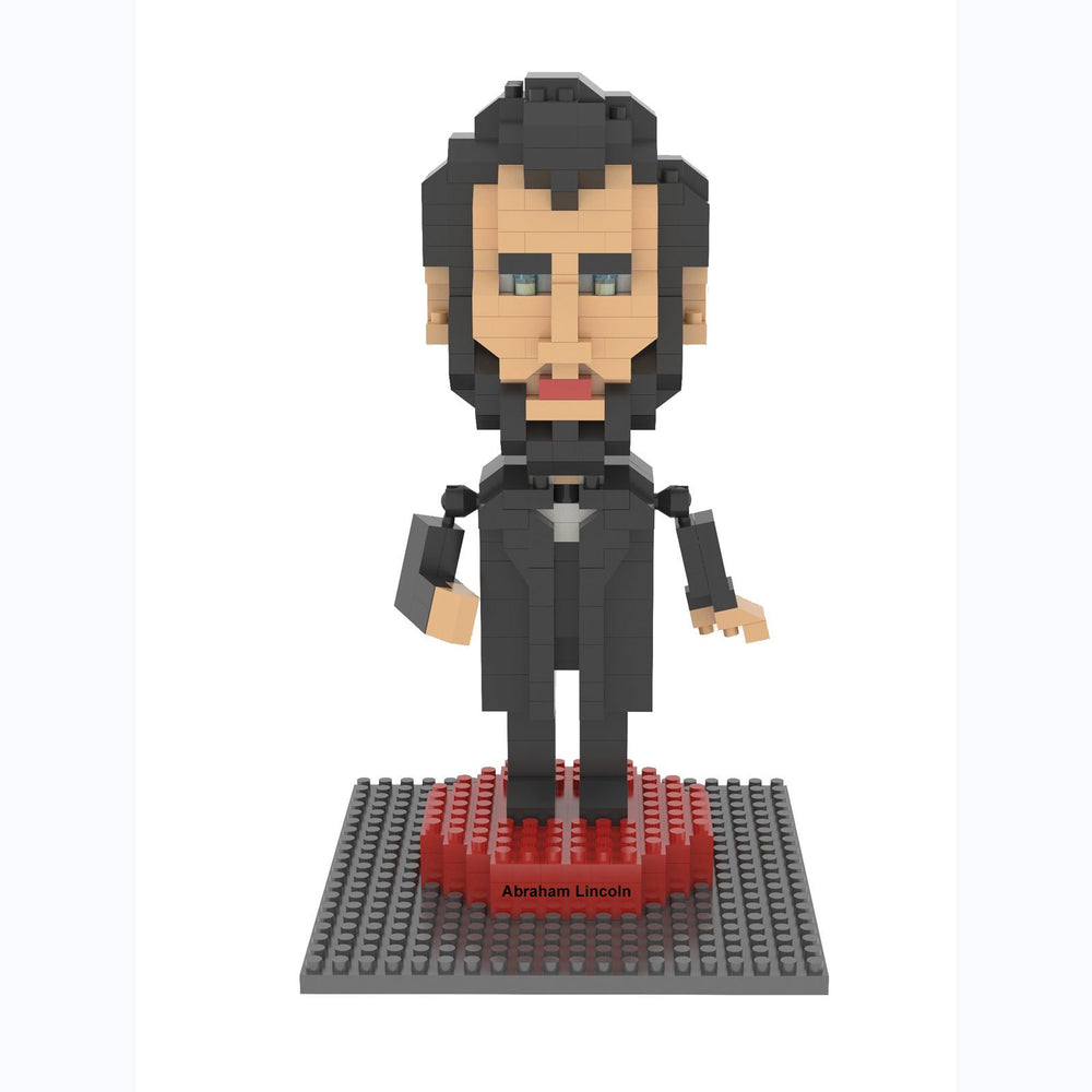 Abe Lincoln Mini Building Blocks - IMPACT - The Shops at Mount Vernon