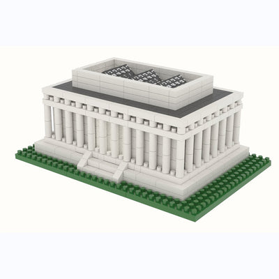 Lincoln Memorial Mini Building Blocks