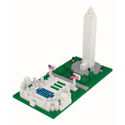 Washington Monument & WW II Memorial Mini Building Blocks