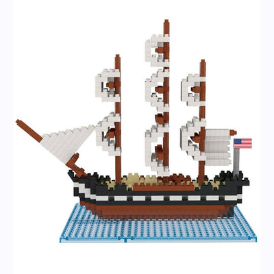 USS Constitution Mini Building Blocks