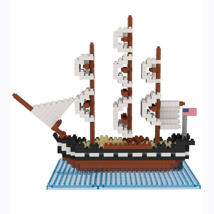 USS Constitution Mini Building Blocks - IMPACT - The Shops at Mount Vernon