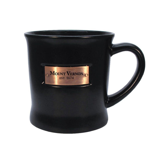 Mount Vernon Black Copperplate Mug - CHARLES PRODUCTS INC. - The Shops at Mount Vernon