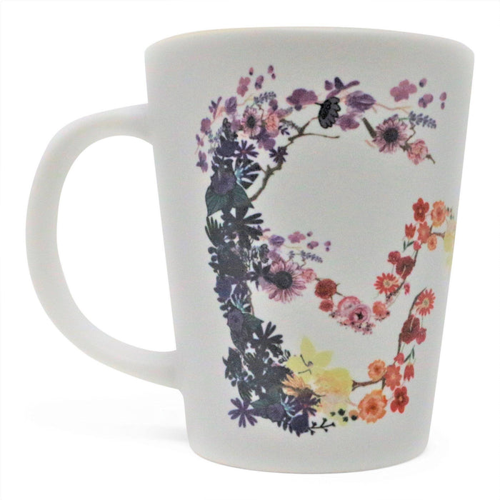 Mount Vernon Floral Latte Mug - CHARLES PRODUCTS INC. - The Shops at Mount Vernon