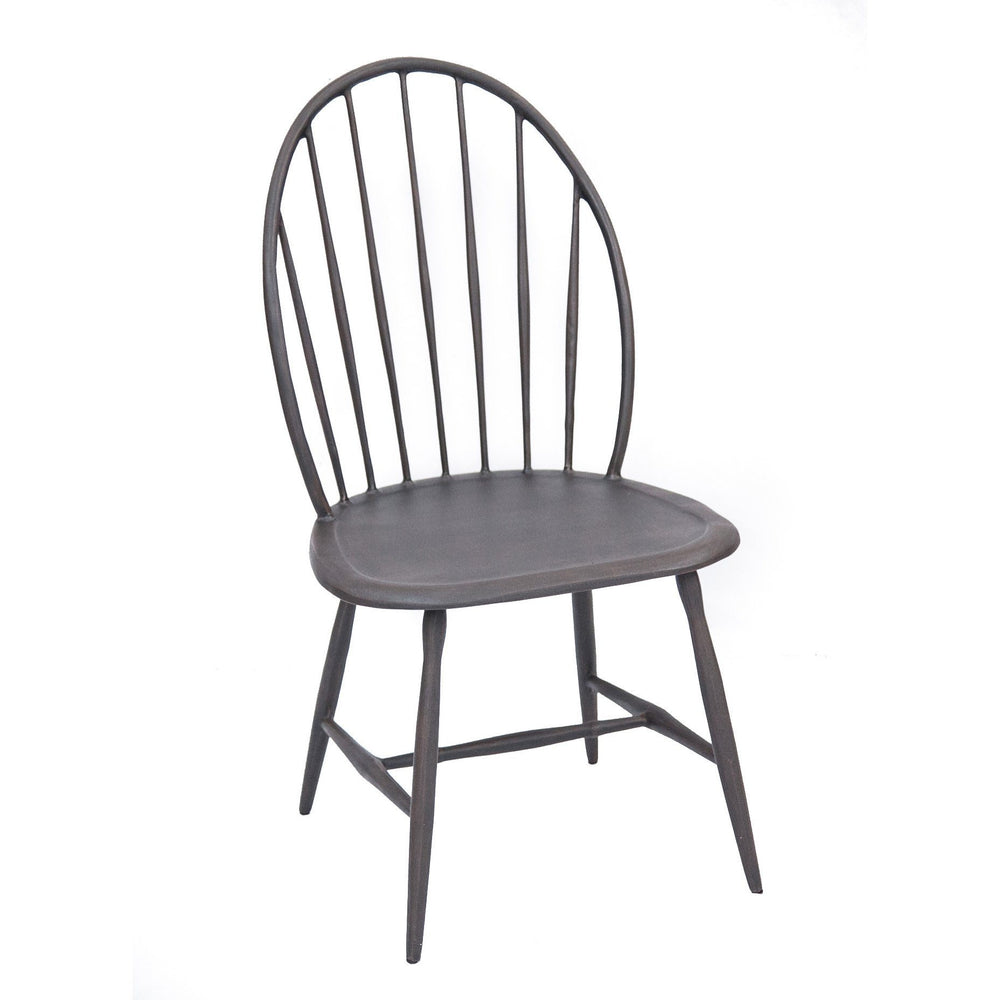 Windsor Armless Chair - Three Coins Cast - The Shops at Mount Vernon