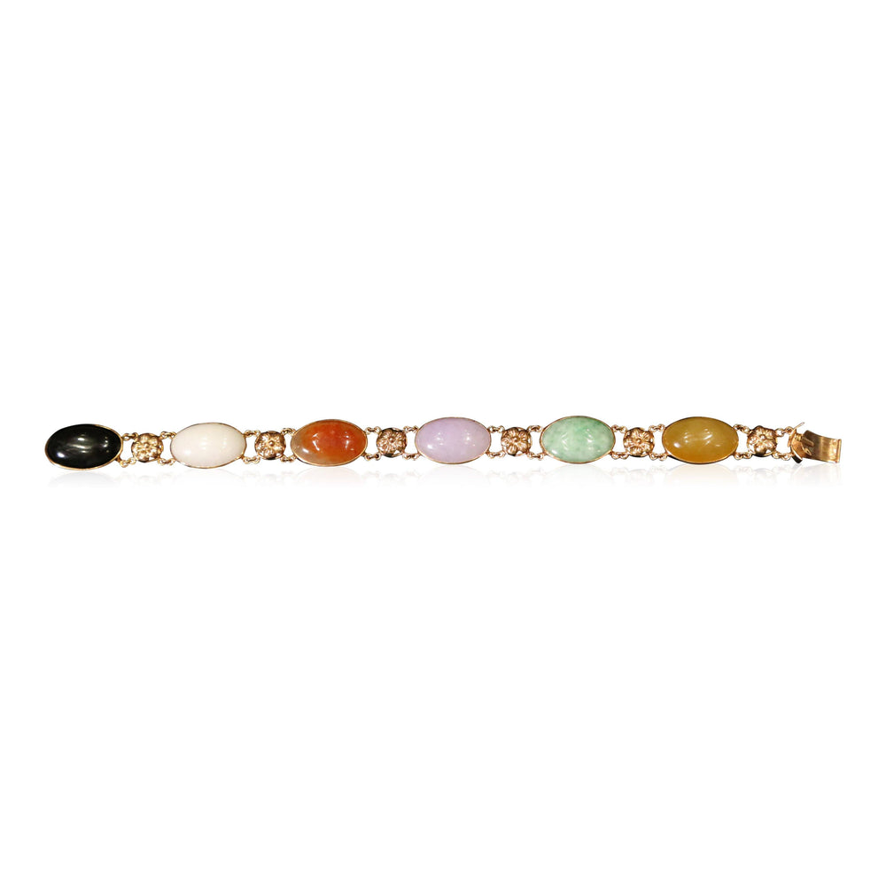 Gumps Jade Bracelet - THE ANTIQUE GUILD - The Shops at Mount Vernon