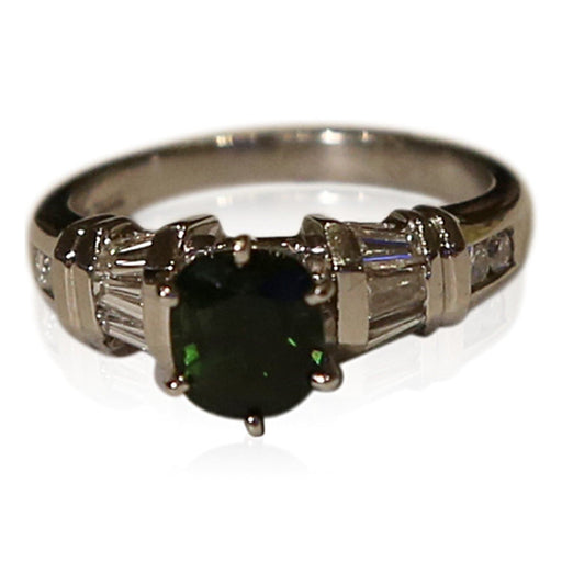 Tourmaline and Diamond Ring - THE ANTIQUE GUILD - The Shops at Mount Vernon
