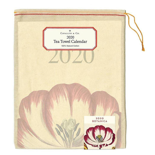 2020  Botanica Calendar Tea Towel - Cavallini Papers & Co. Inc - The Shops at Mount Vernon