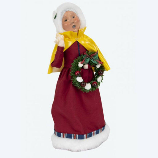 Nautical Mrs Claus Caroler - BYER'S CHOICE, LTD - The Shops at Mount Vernon