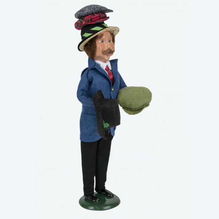 Hat Peddler Caroler - BYER'S CHOICE, LTD - The Shops at Mount Vernon
