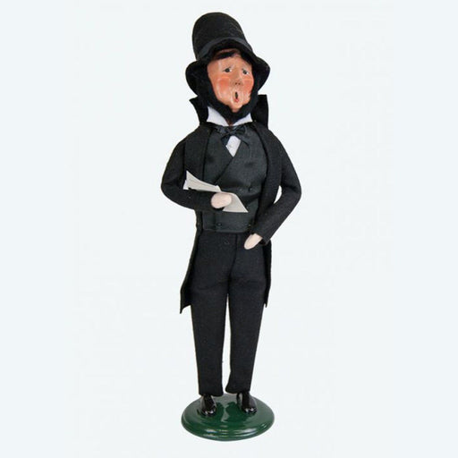 Abraham Lincoln Caroler - BYER'S CHOICE, LTD - The Shops at Mount Vernon