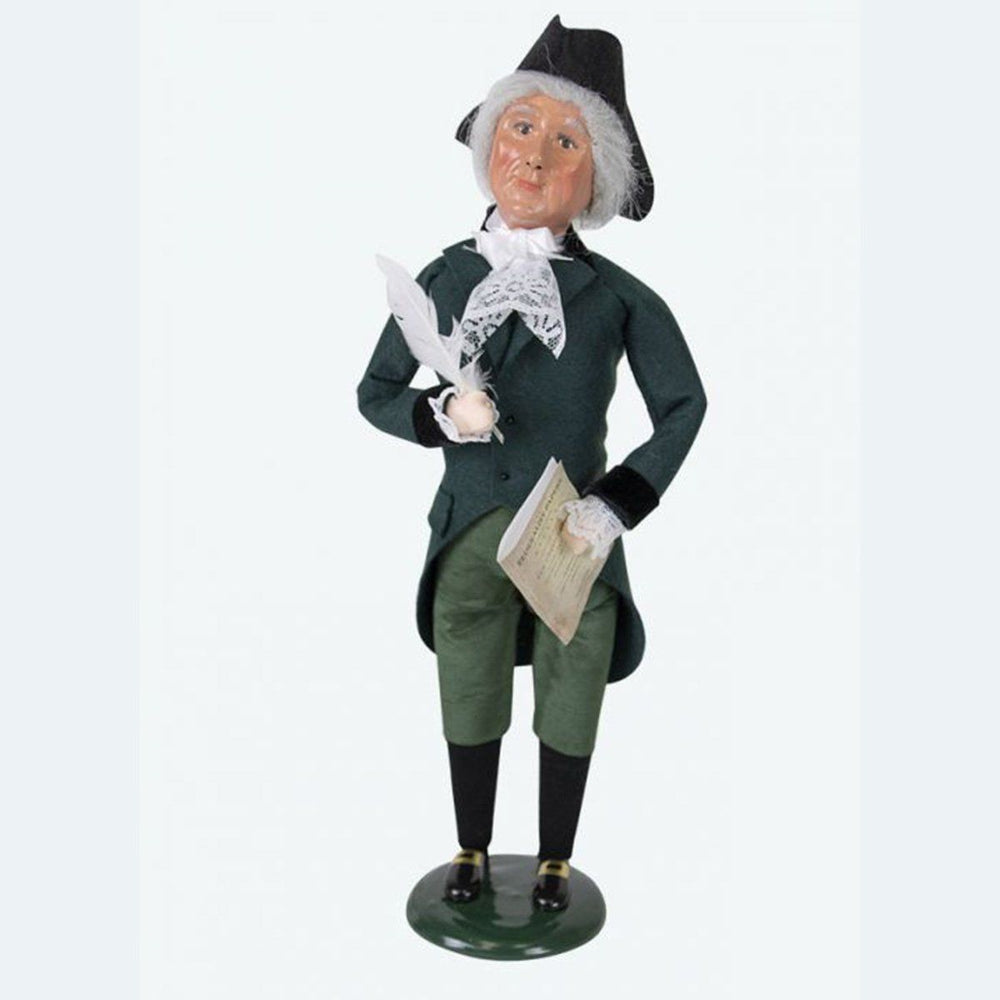 Alexander Hamilton Caroler - BYER'S CHOICE, LTD - The Shops at Mount Vernon