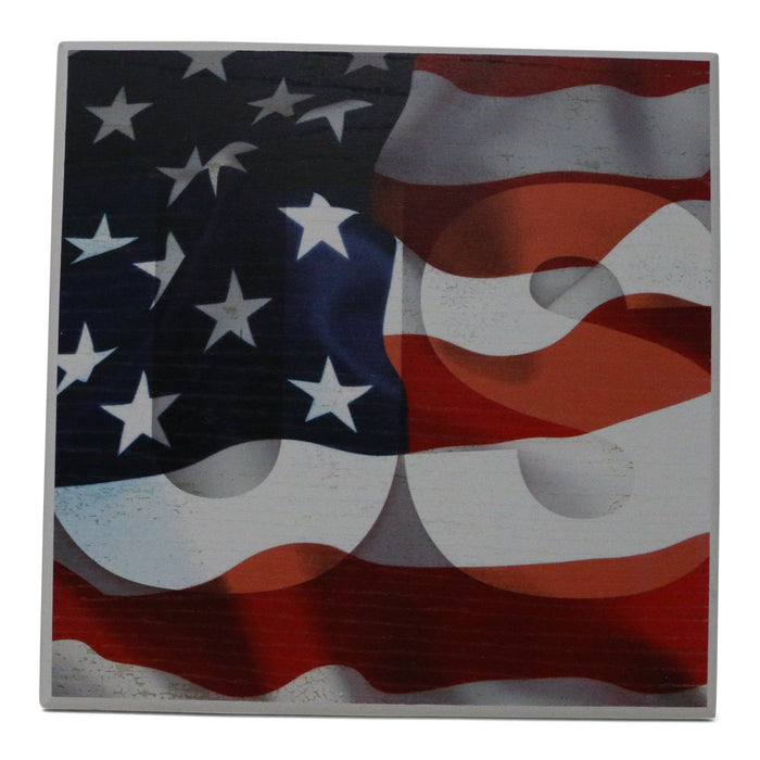 American Flag Sign - Miller McLeod Home Decor - The Shops at Mount Vernon