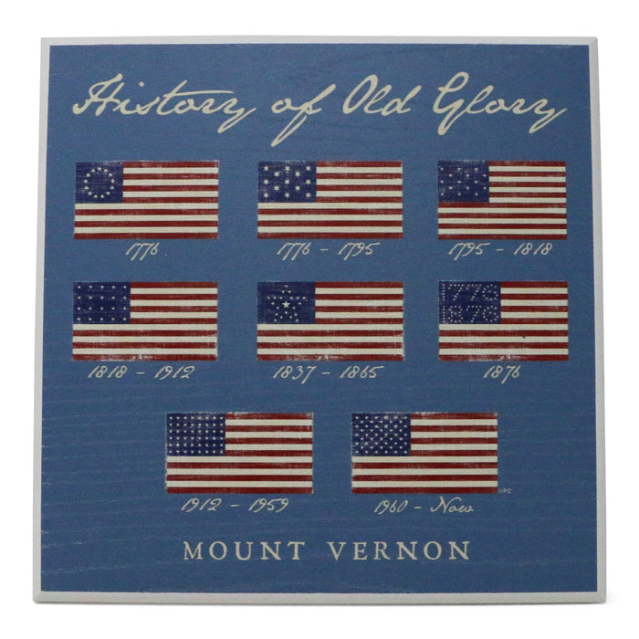 History of Old Glory Sign - Miller McLeod Home Decor - The Shops at Mount Vernon