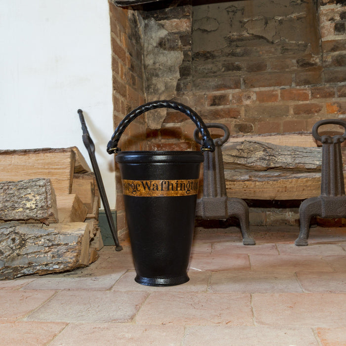 Mount Vernon Leather Fire Bucket - DESIGN MASTER ASSOCIATES - The Shops at Mount Vernon