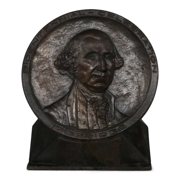 George Washington Bronze Medal of 1932 Paperweight - DAVID CONSOLVO - The Shops at Mount Vernon