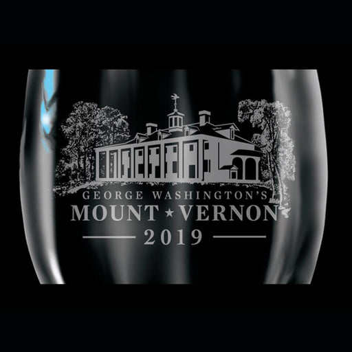 Mount Vernon 2019 Wine Glass - CHARLES PRODUCTS INC. - The Shops at Mount Vernon