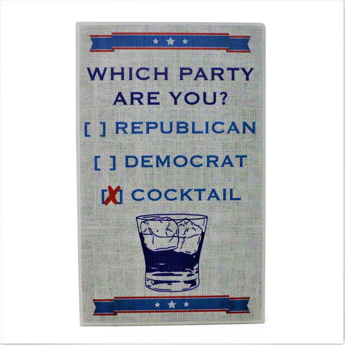Which Party Are You? Sign - Miller McLeod Home Decor - The Shops at Mount Vernon