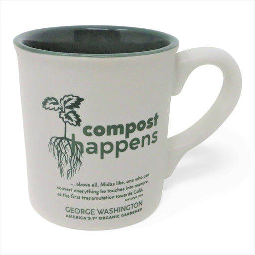 Compost Happens Mug - PLANET COTTON - The Shops at Mount Vernon